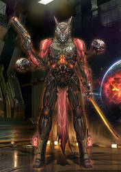 EXODE Legendary  Captain Cranium by Shin500