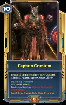 Captain Cranium full card