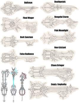 True Organization 13/Seeker of Darkness Keyblades