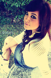 Myself. by vevuccina
