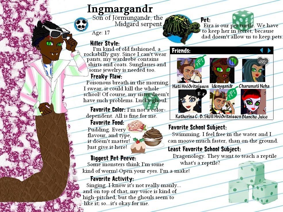 MH OC-Ingmargandr profile by Bj-Lydia