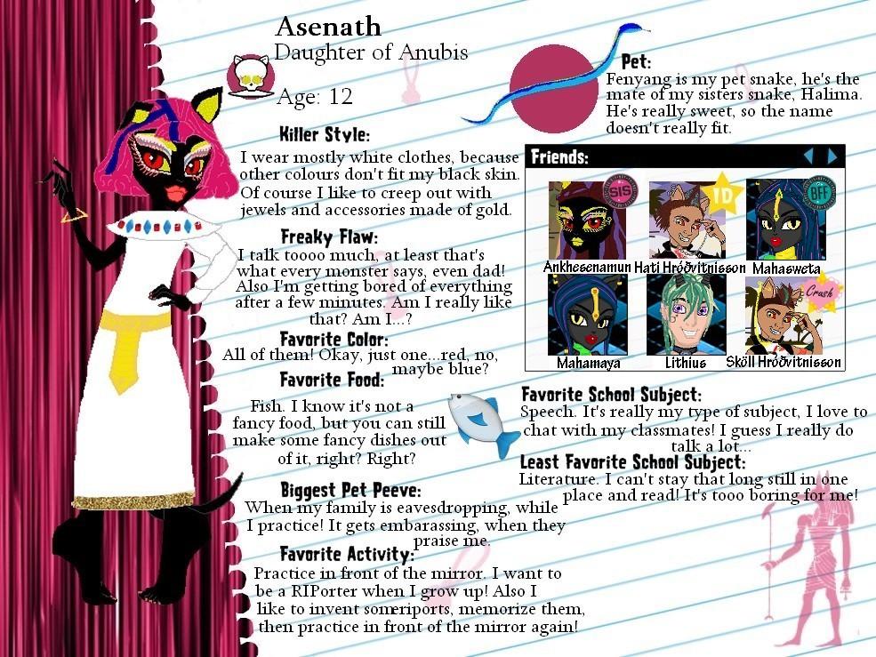 MH OC-Asenath profile by Bj-Lydia