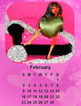 2014 calendar-February by Bj-Lydia