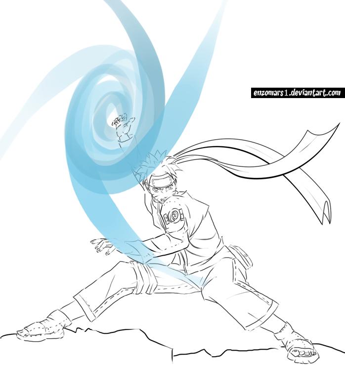 ShurikenRasengan by enzomars1