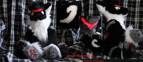 Koya Nightwolf by amoryllis