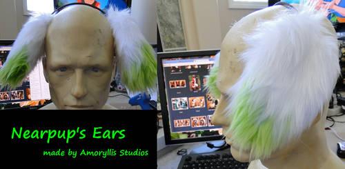 Nearpup's  Ears by amoryllis