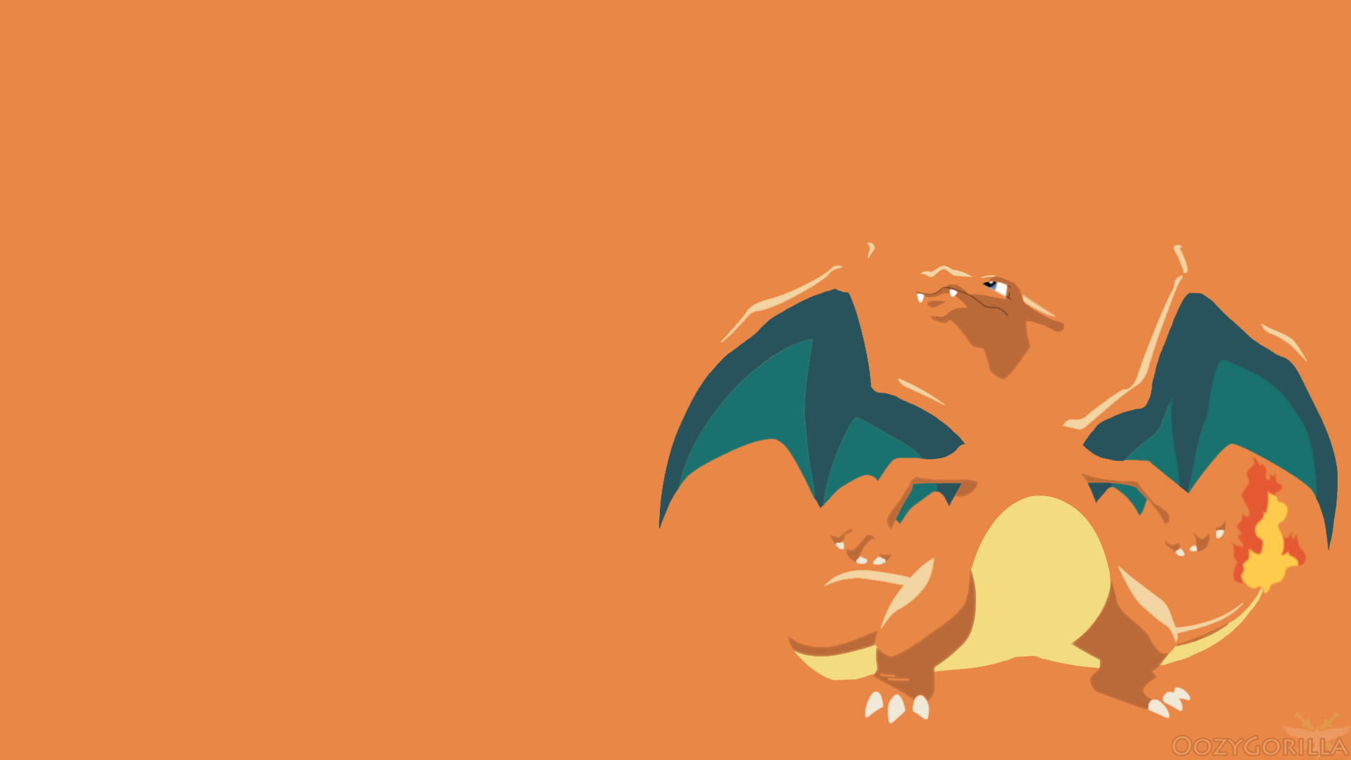 charizard wallpaper by oozygorilla on deviantart