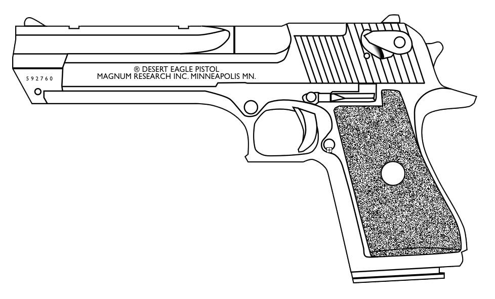 Desert Eagle Magnum by lemmonade on DeviantArt
