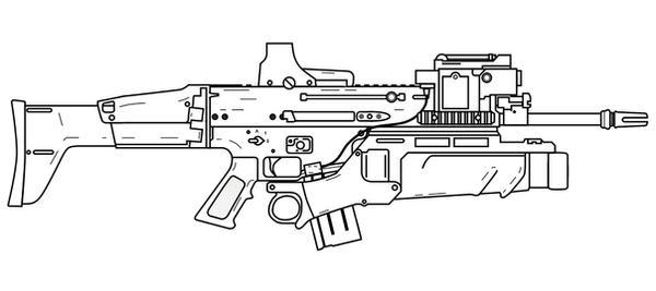 FN SCAR-L EGLM by lemmonade on DeviantArt M14 Wallpaper