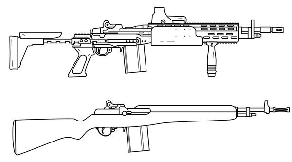 M14 - M14 EBR Compared by lemmonade