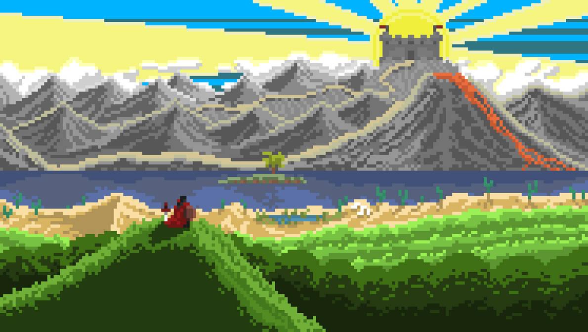 Pixel Album Art Cover by GoatMutation