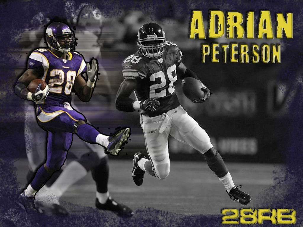 Adrian Peterson Wallpaper By Chicagosportsown