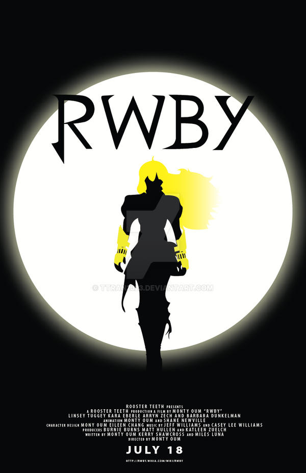 RWBY Movie Poster Feat Yang Xiao Long 386344675 further Tags as well P Tuesday Pollday Summer 2014 Best Girl Best Boy also Team RWBY Returns To The Park 544283505 additionally Yang Ren Penny 438579450. on halo rwby ruby