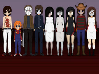 Team Horror Remake by brandp