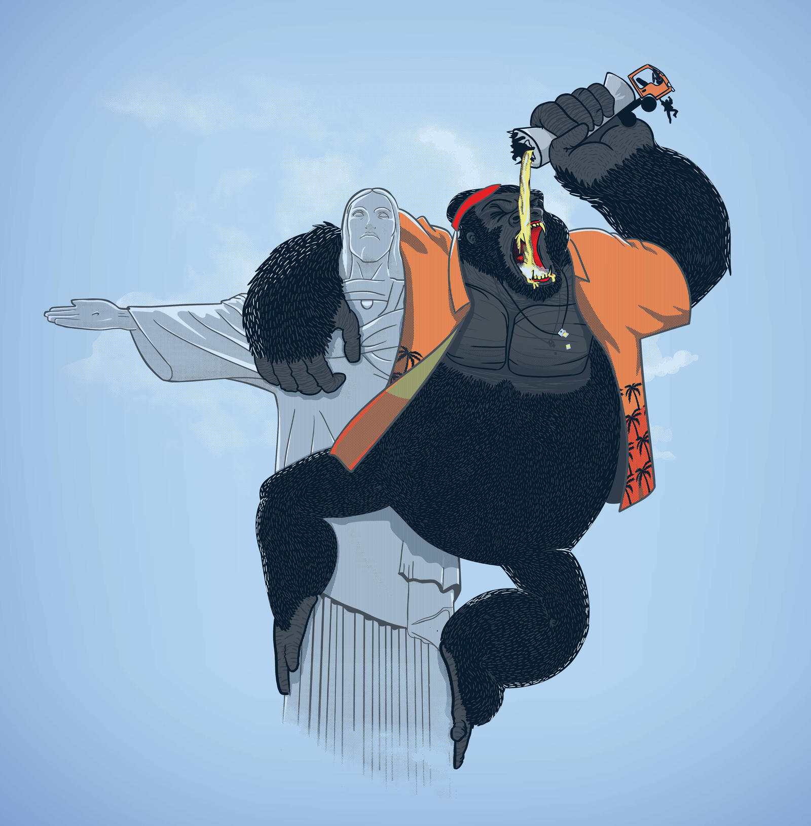 King kong vacations by bafocomics