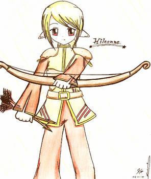 Luna Fanart: Hileonne Archer