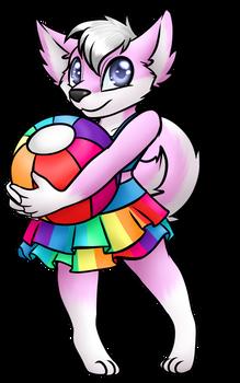 [Patreon] Rainbow suit