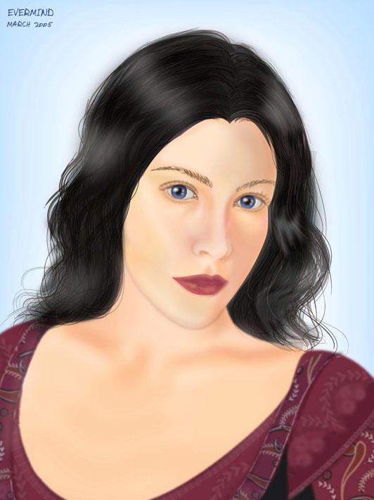 Evenstar, Arwen Undomiel by I-evermind