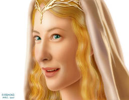 Lady Galadriel by I-evermind