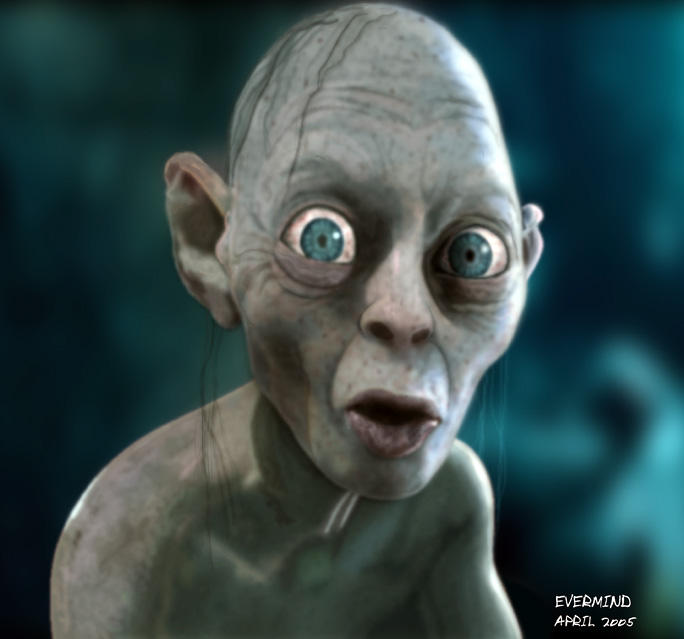 Gollum Gollum by I-evermind