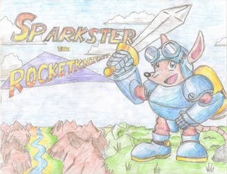 Sparkster the Rocketknight by MrMegaMattX