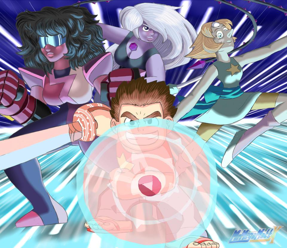 Crystal Gems, Unite! by MrMegaMattX