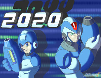 Happy 20XX(20)!! by MrMegaMattX