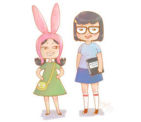 The Belcher sisters by likos