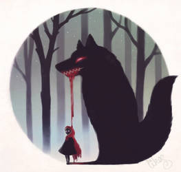 Bloody Red Riding Hood by likos