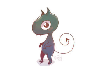 Luci the demon who is totally not a cat by likos