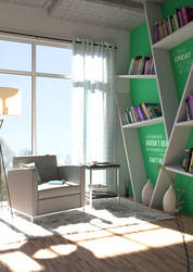 Bibliotheque maison by Champsss
