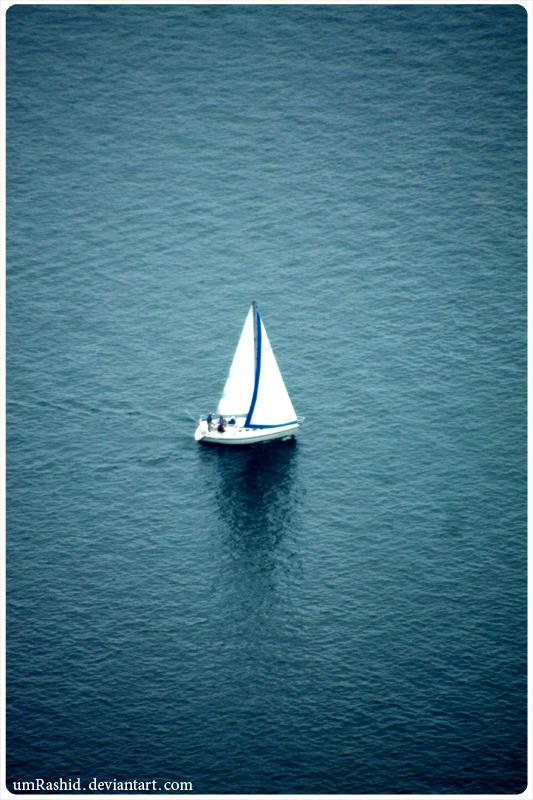 sailing . . . by umRashid
