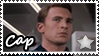 Avengers - Captain America Stamp by NinjaWerewolves