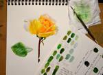 Yellow Rose - WIP