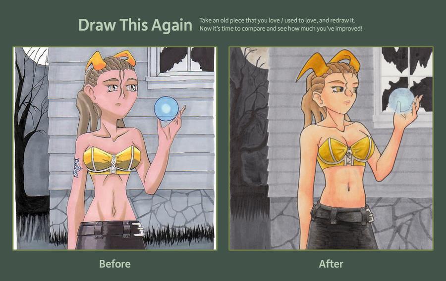 Yukiyo Draw This Again by Ratofblades