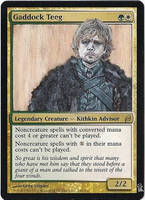 Magic Card Alteration: Tyrion Lannister Teeg by Ondal-the-Fool