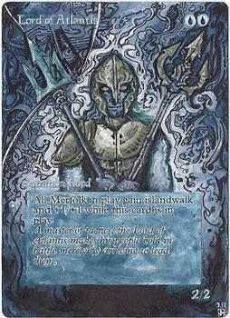 Magic Card Alteration: Lord of Atlantis