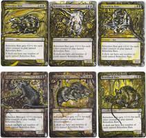 Magic Card Alteration: Relentless Rats