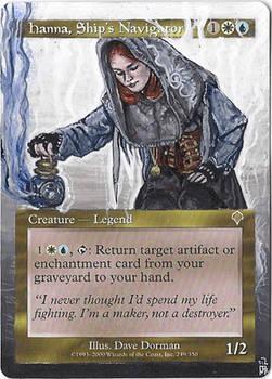 Magic Card Alteration: Hanna, Ships Navigator