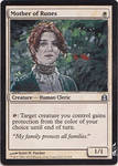 Magic Card Alteration: Catelyn Mother of Runes