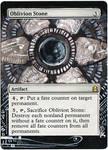 Magic Card Alteration: Oblivion Stone 2