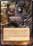 Magic Card Alteration: Bone Shredder