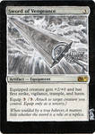 Magic Card Alteration: Sword of Vengeance Berserk