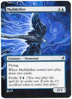 Magic Card Alteration: Mulldrifter 8-6 by Ondal-the-Fool