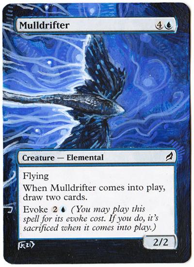 Mulldrifter altered