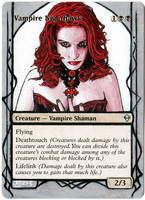 Magic Card Alteration: Vampire Nighthawk 8-19 by Ondal-the-Fool