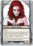 Magic Card Alteration: Vampire Nighthawk 8-19