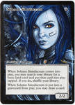 Magic Card Alteration: Solemn Simulacrum 11-3