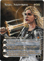 Magic Card Alteration: Elspeth, Knight-Errant by Ondal-the-Fool