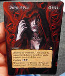 Magic Card Alteration: Decree of Pain 3-2-14